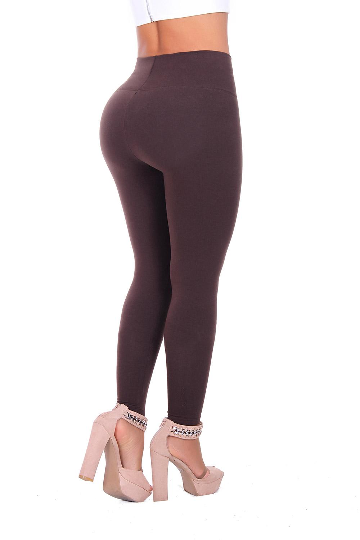 Bon Bon Up Women's Cotton Leggings with Internal Shaper and Butt Lifter