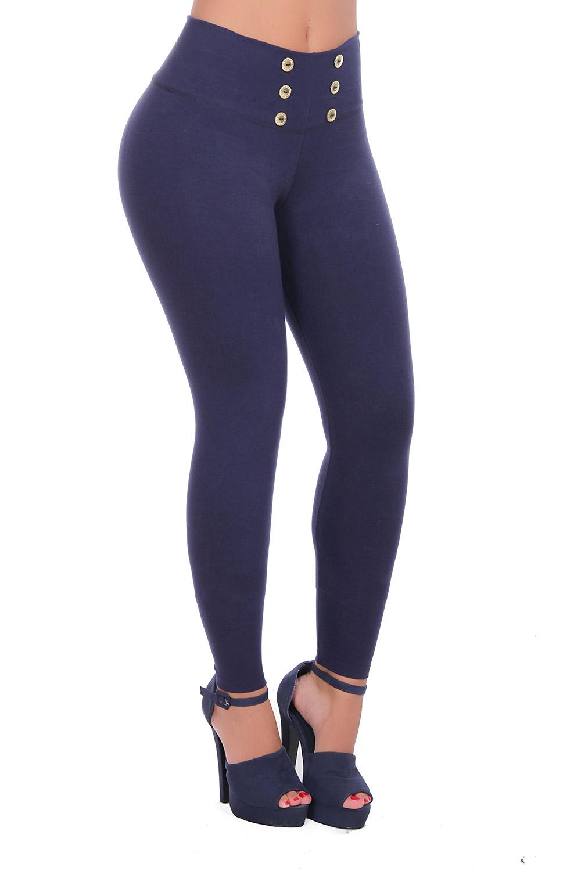 Bon Bon Up Women's Button Down Leggings with Internal Shaper and Butt Lifter, Various Styles