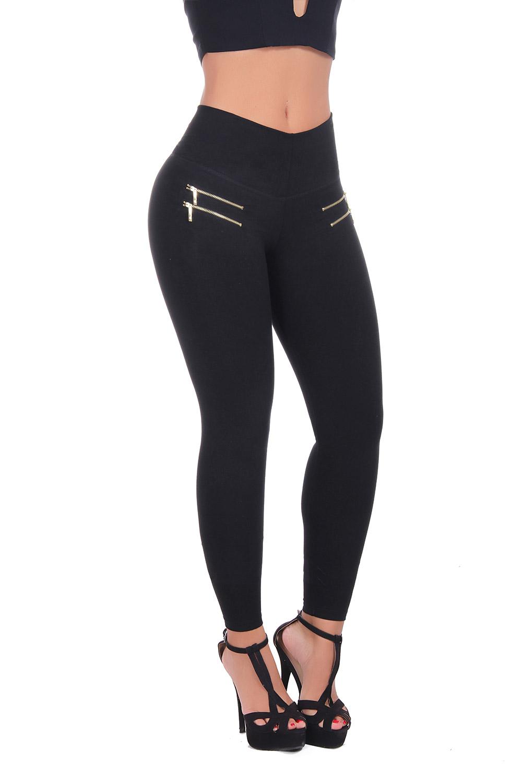 Sports leggings with internal body shaper by Bon Bon Up